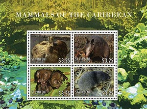 2013 $3.25 Mammals of the Caribbean