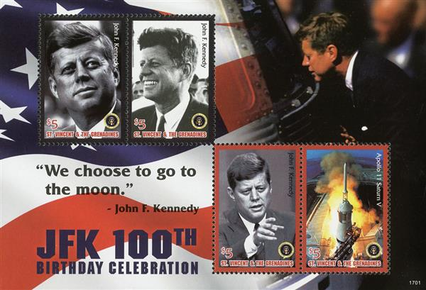 2017 JFK 100th Birth Anniversary Space Program