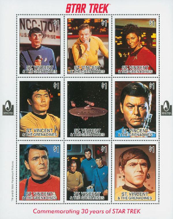 St Vincent, Star Trek