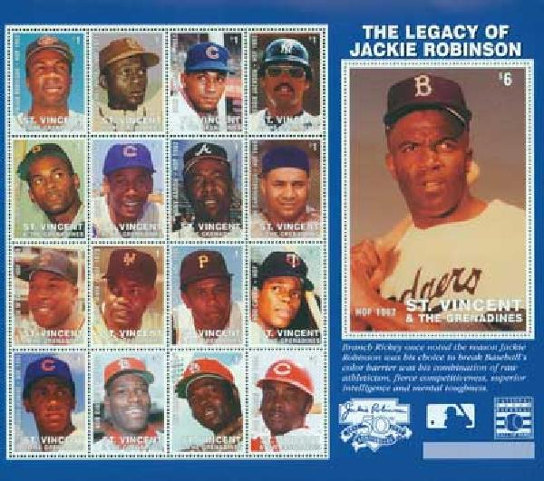 Legacy of Jackie Robinson S/S