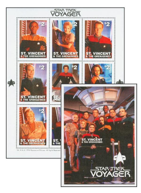 St Vincent Star Trek Voyager 1 SH 1 SS