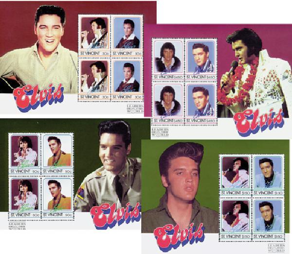 St. Vincent Elvis Various Portraits