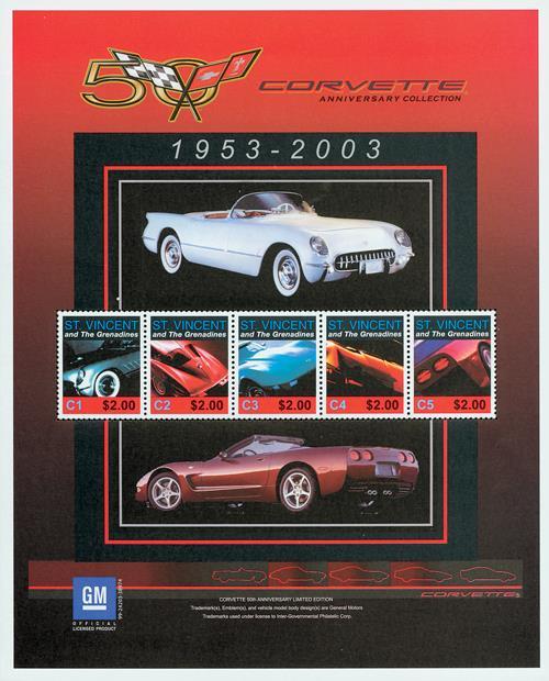 2003 Corvette Anniversary Collection