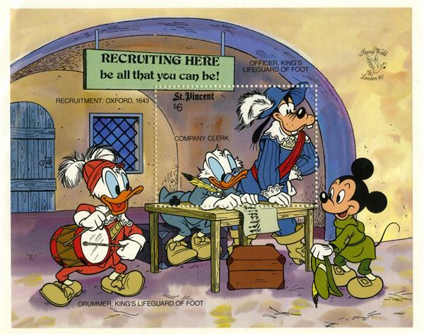 St. Vincent Company Clerk Scrooge, S/S