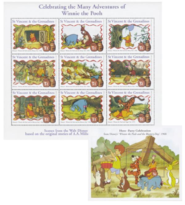 "St. Vincent 1998 ""Winnie the Pooh"""