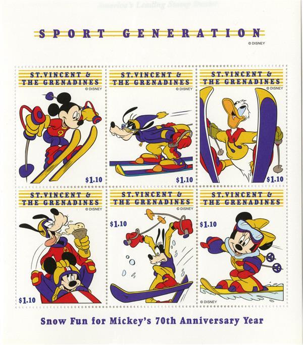 St. Vincent Sport Generation, 6/sheetlet