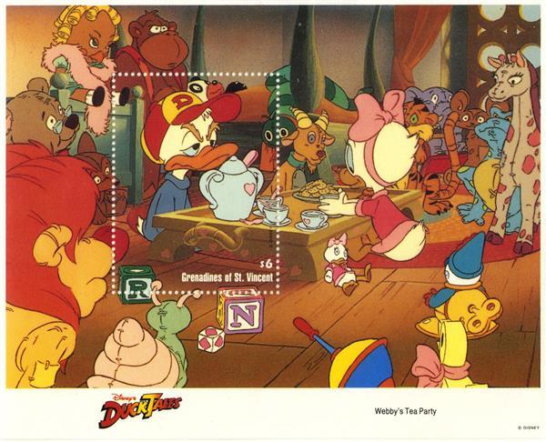 St. Vincent 1992 Webbys Tea Party, S/S