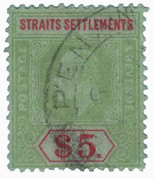 1910 Straits Settlements