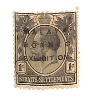 1922 Straits Settlements