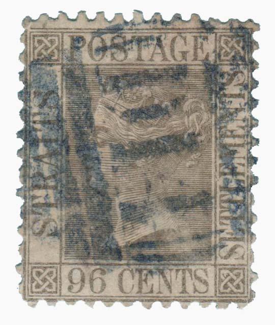 1871 Straits Settlements