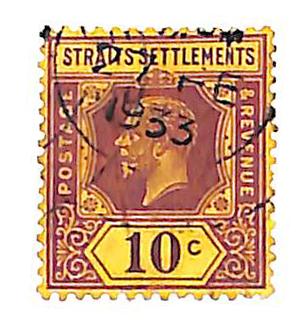 1927 Straits Settlements