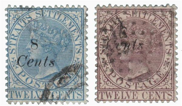 1884 Straits Settlements