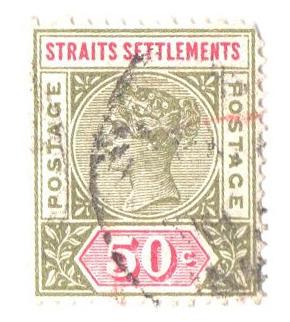 1892 Straits Settlements