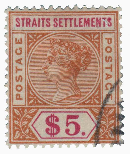 1898 Straits Settlements