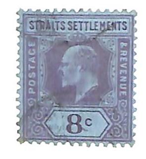 1902 Straits Settlements