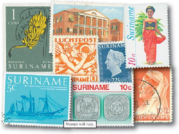 Surinam, 50v