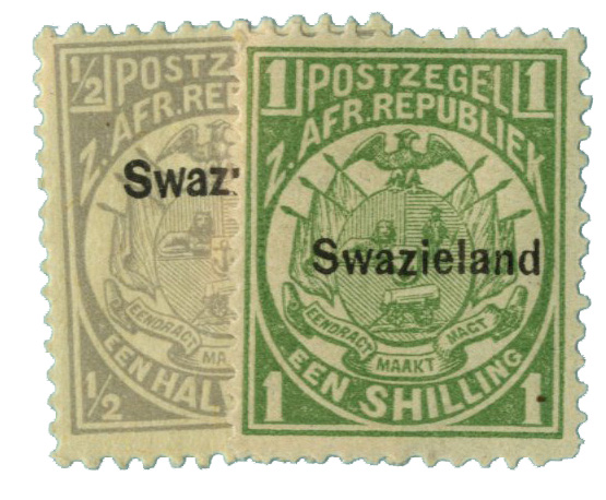 1889 Swaziland