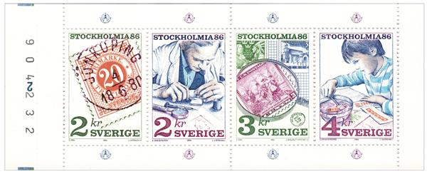 1986 Sweden - Stamp Collecting