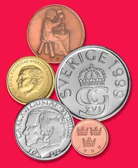 1999 Sweden Mint Set