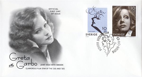 2005 Sweden #2517 - Greta Garbo