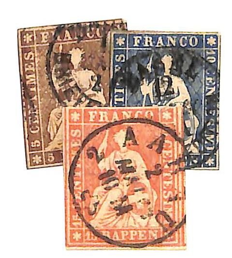 1858-62 Switzerland