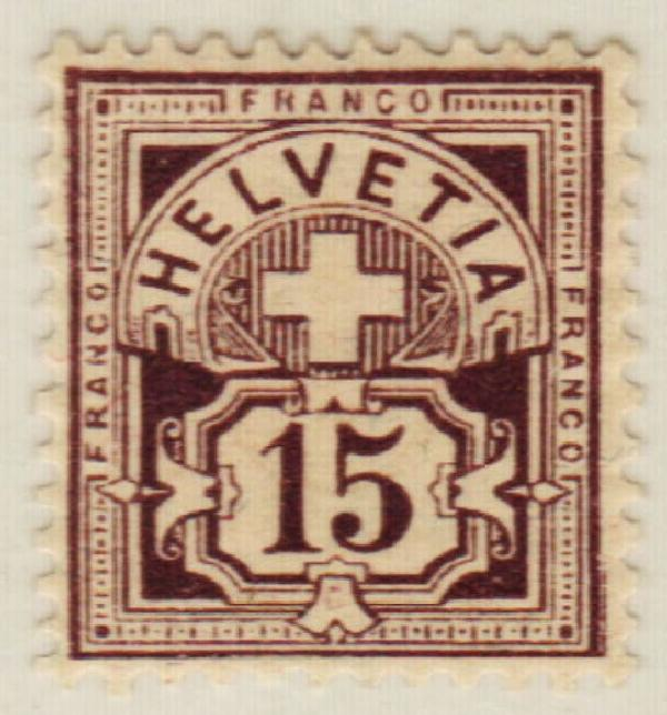 1889 Switzerland