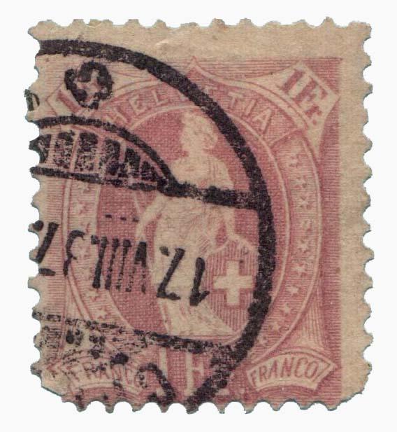 1901 Switzerland