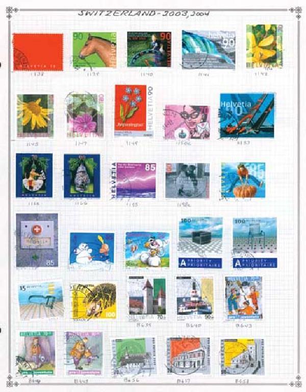 1862-2004 Switzerland