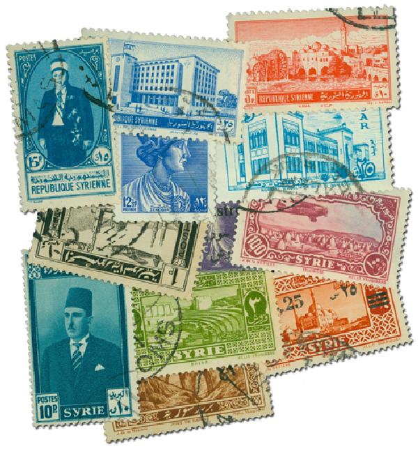 200 Syria Stamps