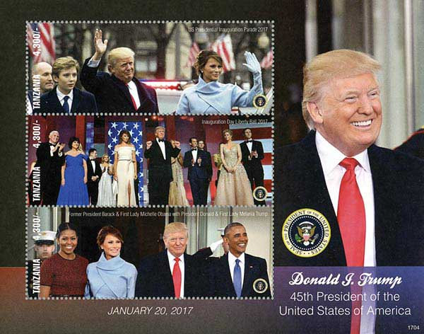 2017 45th President Trump's Inauguration