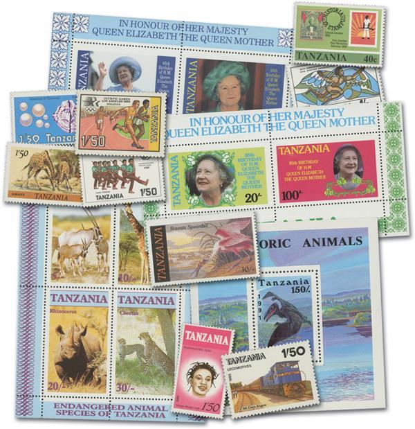 Tanzania, 36v, Mint