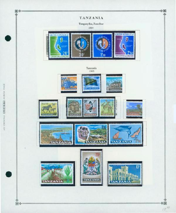 1964-90 Tanzania
