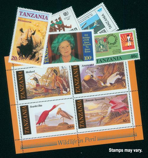 Tanzania, 100v