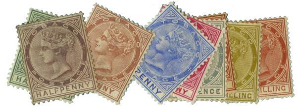 1882-96 Tobago