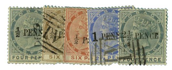 1886-92 Tobago