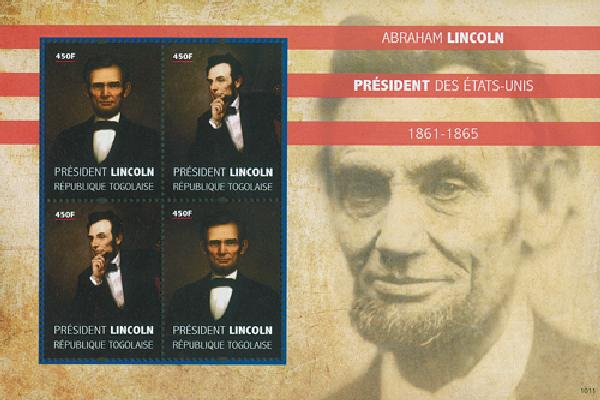 2010 Togo Abe Lincoln 4v Mint