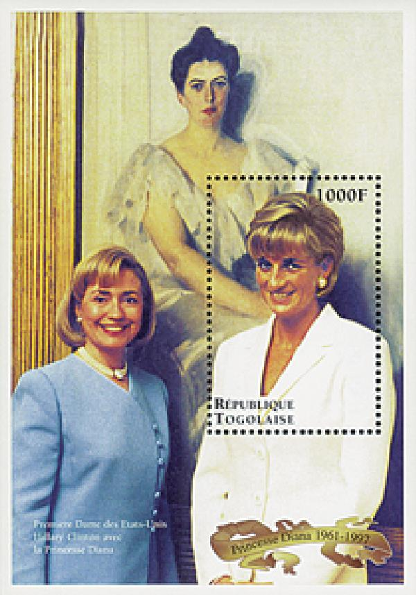 Togo Diana with Hillary Clinton S/S