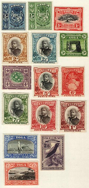 1897-1934 Tonga