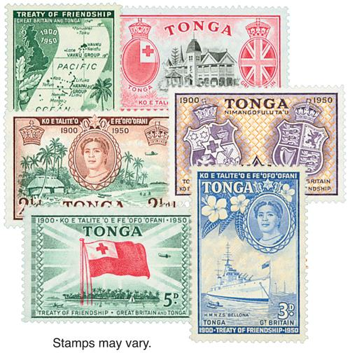 Tonga, 10v