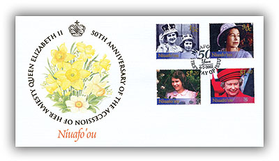 2002 Queen's Golden Jubilee Niuafo'ou FDC