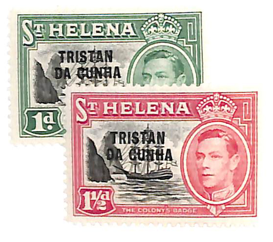 1952 Tristan da Cunha