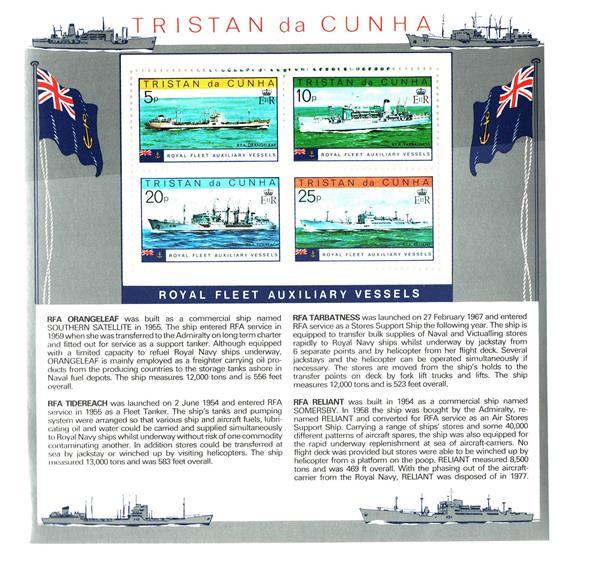 1978 Tristan da Cunha