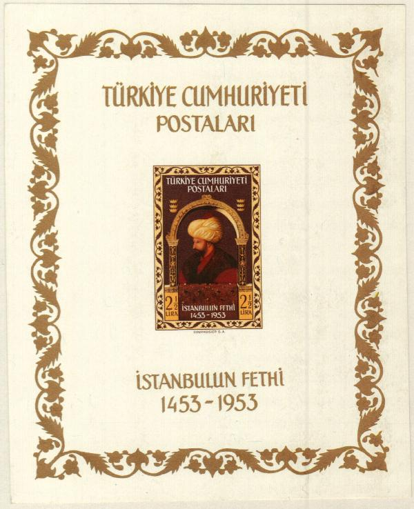 1953 Turkey