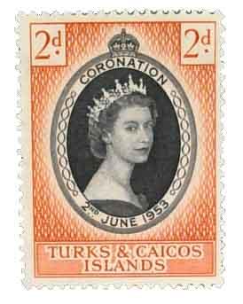 1953 Turks & Caicos Islands