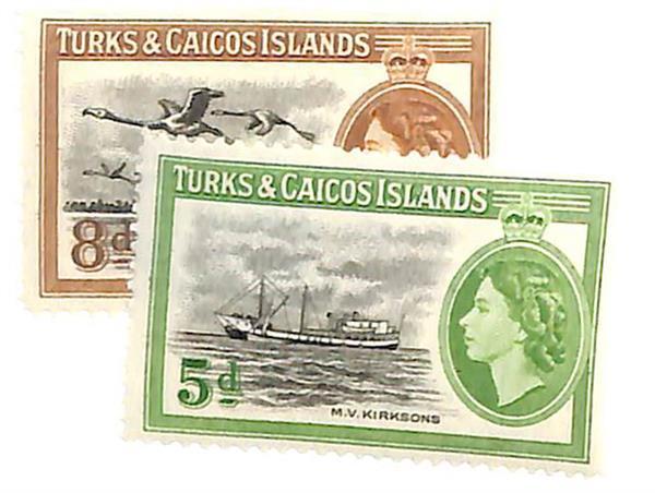 1955 Turks & Caicos Islands