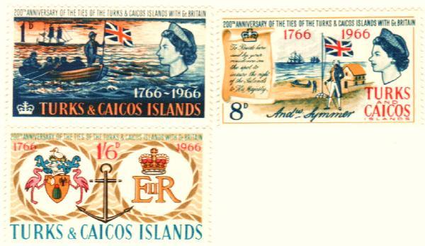 1966 Turks & Caicos Islands