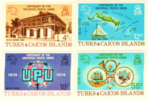 1974 Turks & Caicos Islands