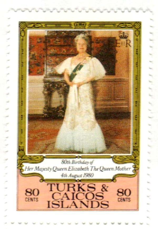 1980 Turks & Caicos Islands