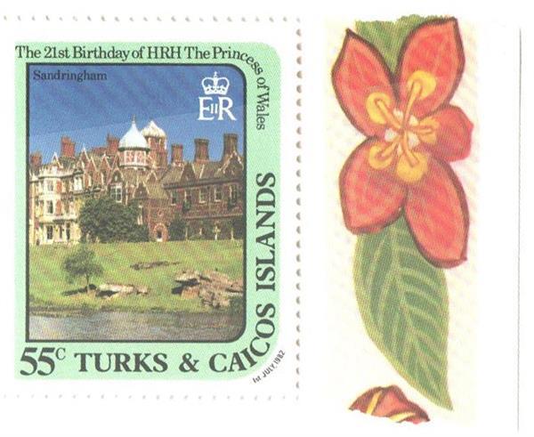 1982 Turks & Caicos Islands