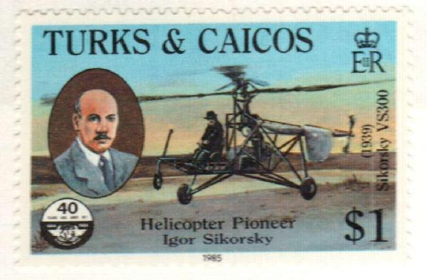 1985 Turks & Caicos Islands